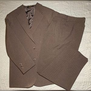 Boys Two Piece Stripped Suit